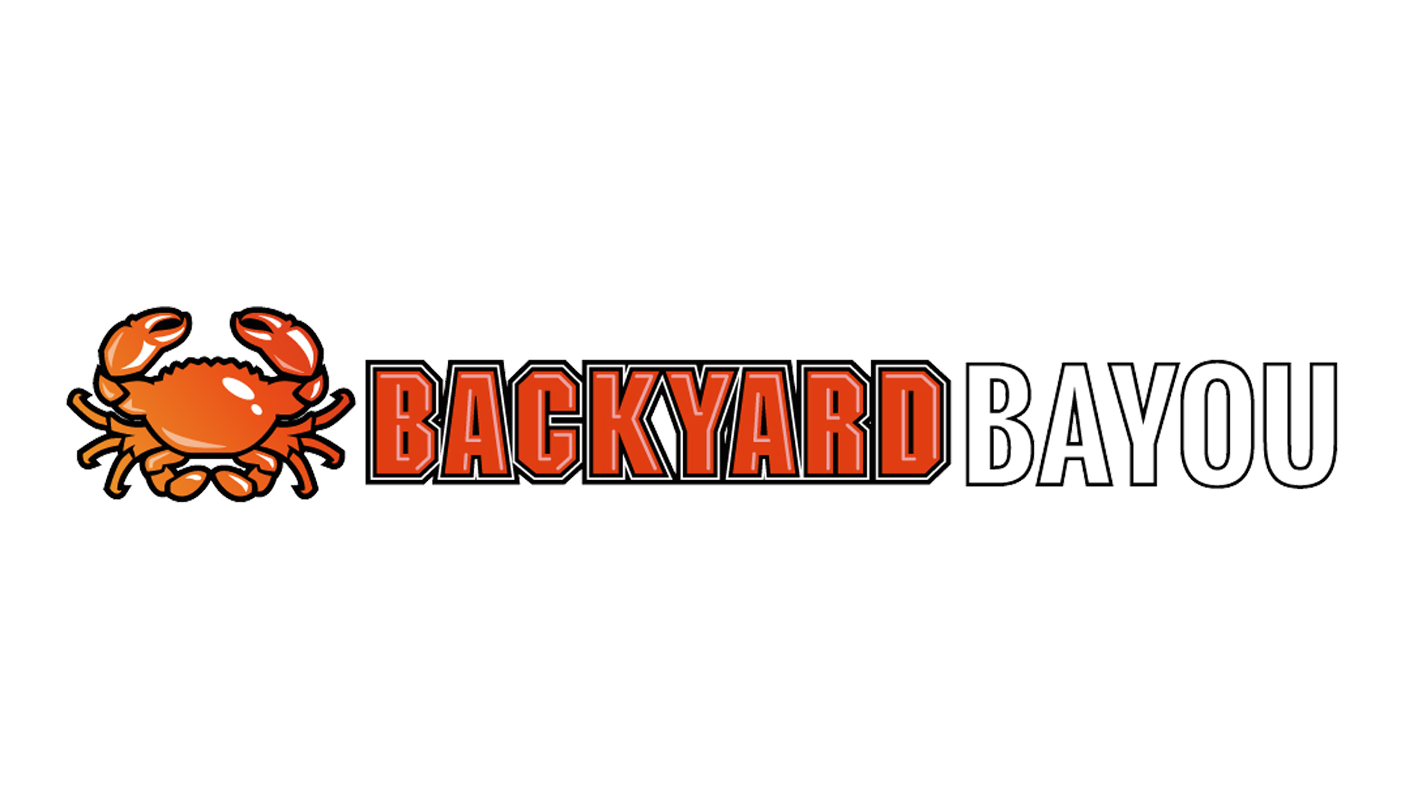 Backyard Bayou restaurant logo