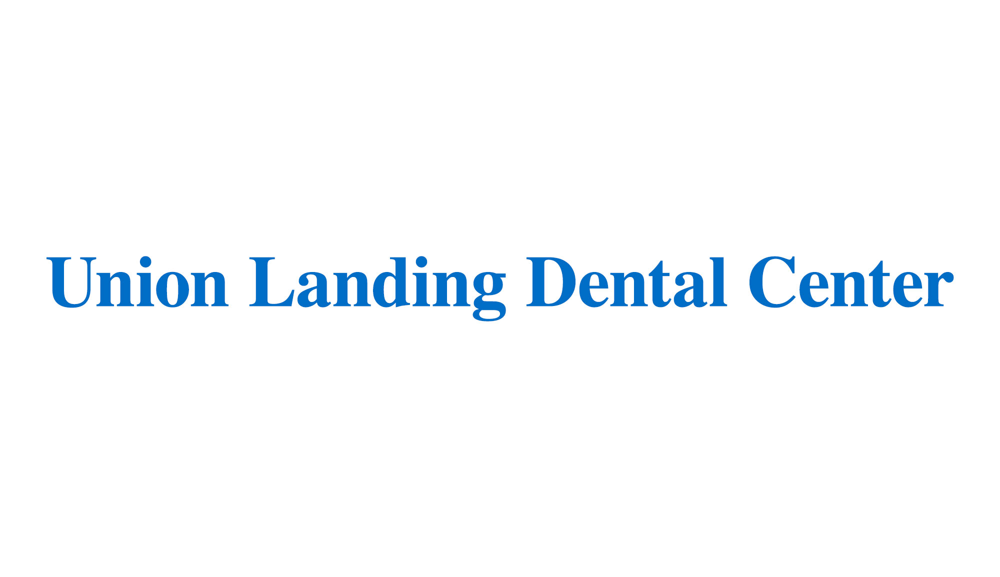 Union Landing Dental Center logo