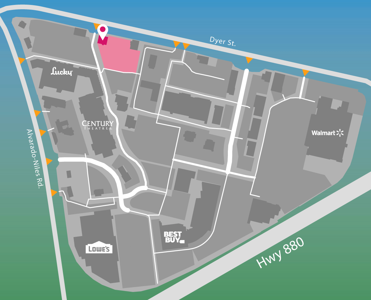 Parking map for Chili's Grill and Bar.
