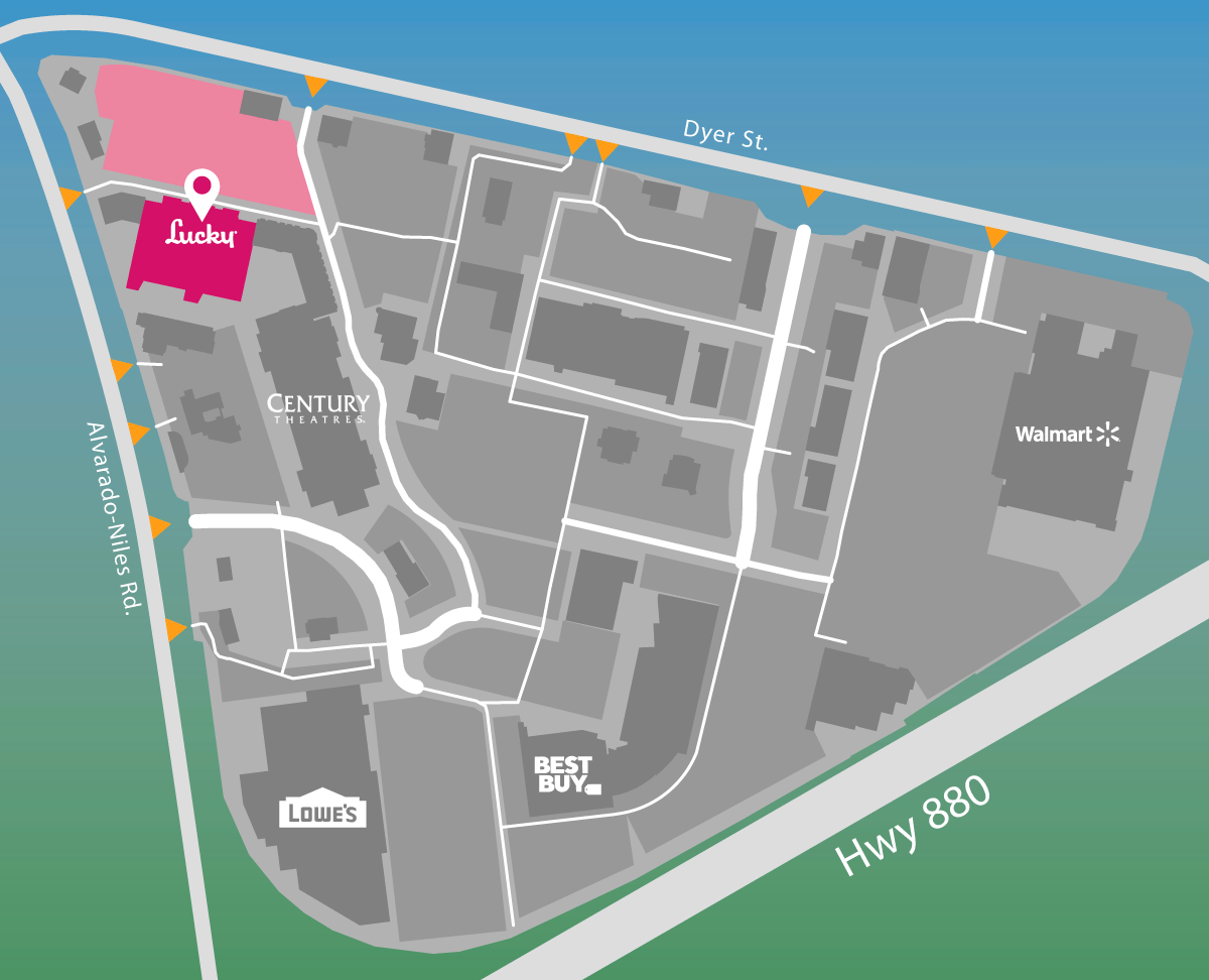 Parking map of Lucky.