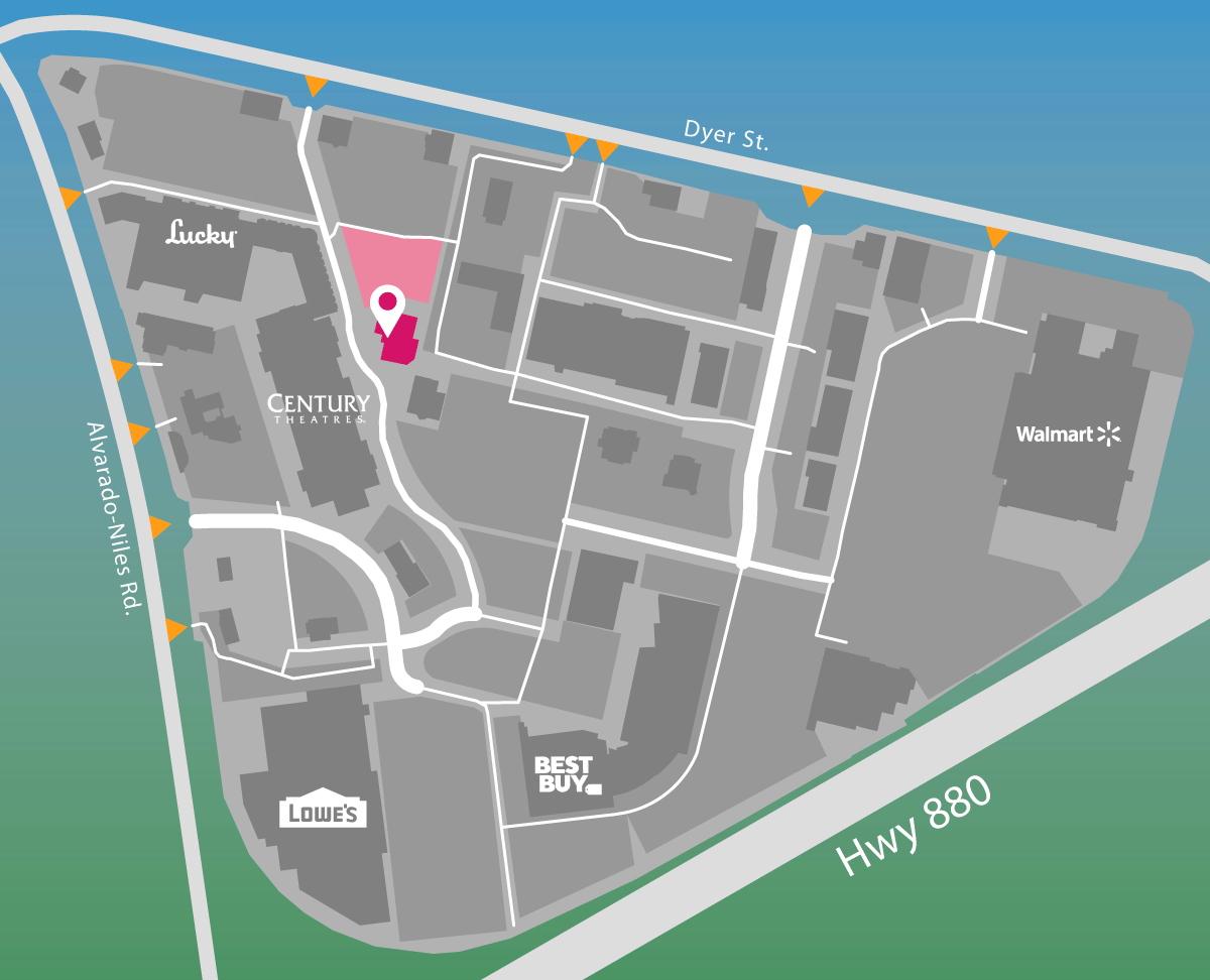 Parking map of DNA Tap & Barrelwerks.