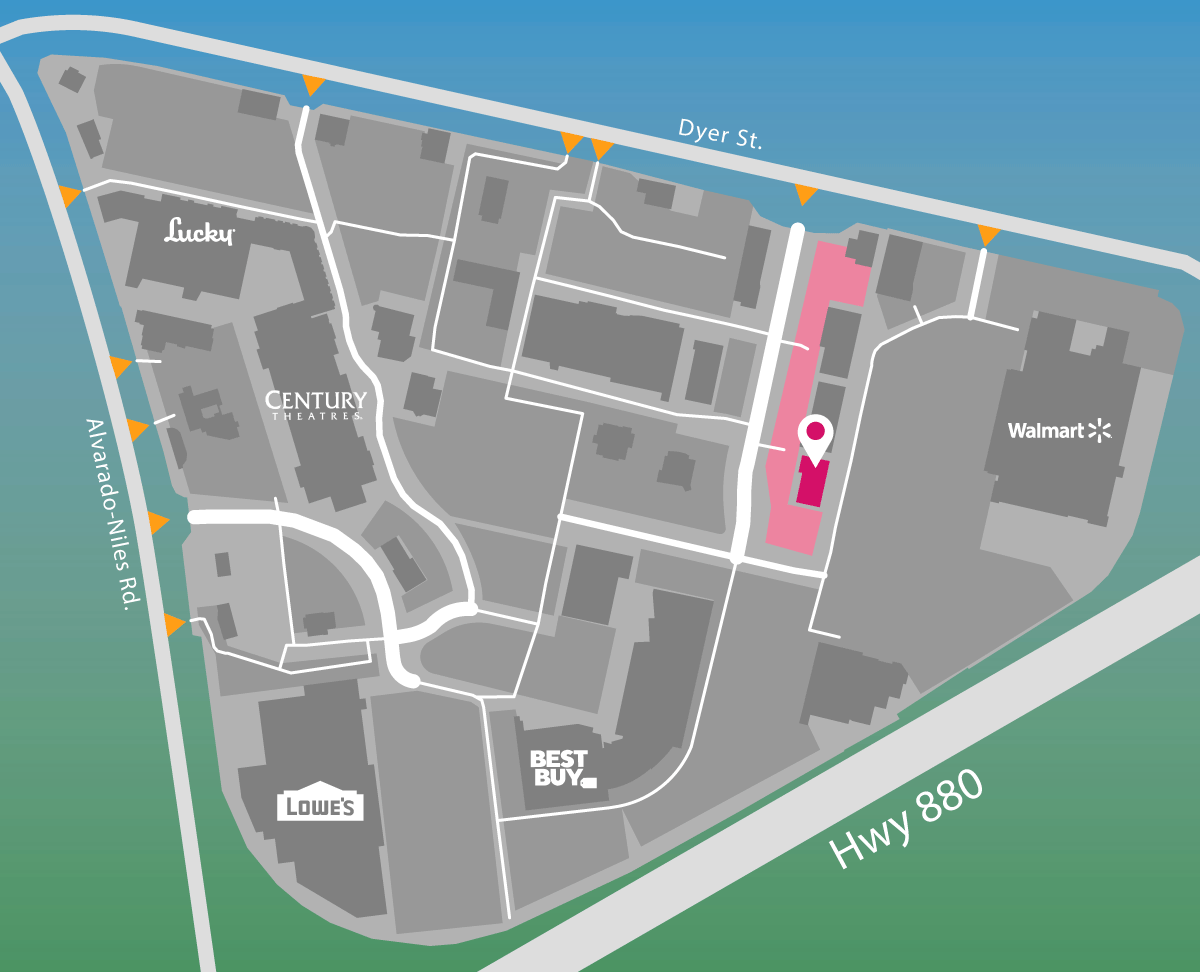 Parking map for GNC.