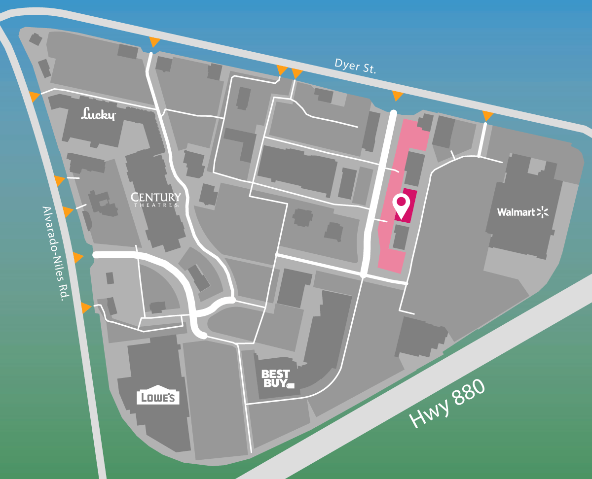 Parking map of Xfinity Store by Comcast.
