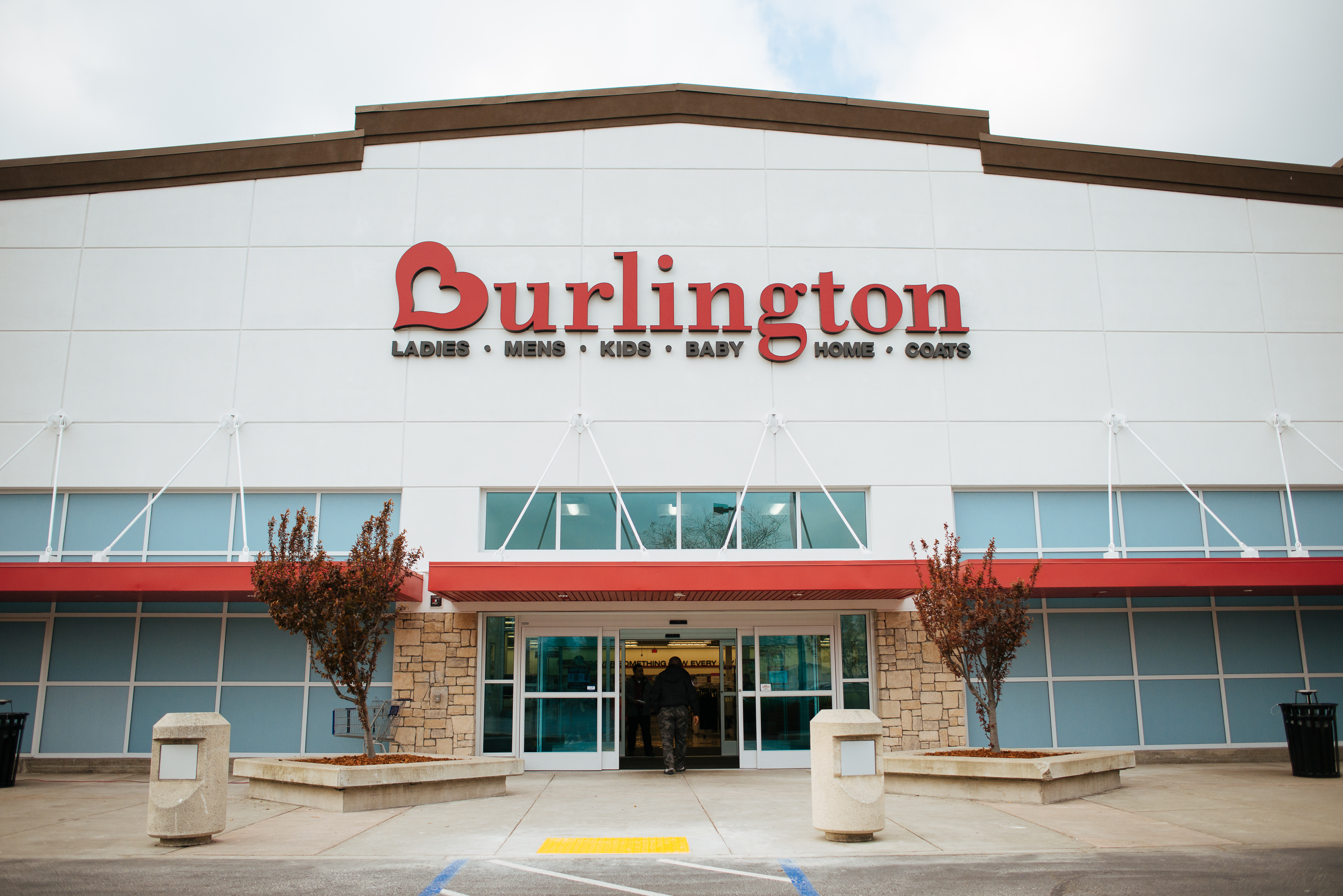 Exterior of Burlington Coat Factory.